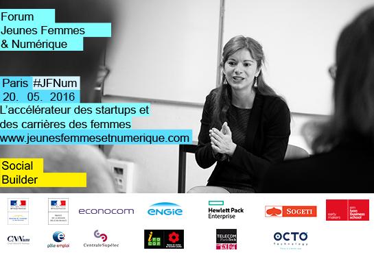 Visuel newsletter Jeunes Femmes & Numérique